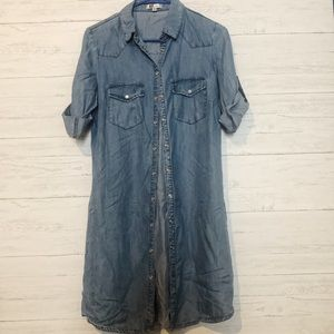 Kut from the kloth chambray dress